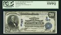 National Bank Notes:Pennsylvania, Pittsburgh, PA - $20 1902 Date Back Fr. 642 The German NB Ch. # (E)757. ...