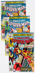 Bronze Age (1970-1979):Superhero, The Amazing Spider-Man Group of 28 (Marvel, 1977-79) Condition:Average FN.... (Total: 28 Comic Books)
