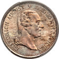 German States:Saxony, German States: Saxony. Friedrich August I Taler 1827-S MS65 PCGS,...