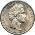 "German States:Bavaria, German States: Bavaria. Ludwig I ""Monument"" Taler 1828 MS63PCGS,..."
