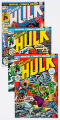 Bronze Age (1970-1979):Superhero, The Incredible Hulk Group of 6 (Marvel, 1973-74) Condition: AverageVF.... (Total: 6 Comic Books)