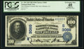 National Bank Notes:Louisiana, New Orleans, LA - $100 1902 Date Back Fr. 690 The Whitney-Central NB Ch. # (S)3069. ...