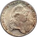 German States:Saxony, German States: Saxony. Friedrich August III Vicariat Taler 1790-IEC MS65 PCGS, ...