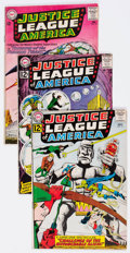 Silver Age (1956-1969):Superhero, Justice League of America Group of 13 (DC, 1962-65) Condition:Average GD+.... (Total: 13 Items)