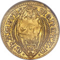 German States:Hamburg, German States: Hamburg. Free City gold Ducat 1661 AU50 NGC,...