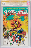 Modern Age (1980-Present):Superhero, Marvel and DC Present the Uncanny X-Men and the New Teen Titans #1Signature Series (Marvel/DC, 1982) CGC NM/MT 9.8 White page...
