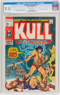 Bronze Age (1970-1979):Miscellaneous, Kull the Conqueror #1 (Marvel, 1971) CGC NM/MT 9.8 Off-white pages....