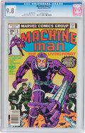 Bronze Age (1970-1979):Science Fiction, Machine Man #1 (Marvel, 1978) CGC NM/MT 9.8 Off-white to white pages....