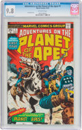 Bronze Age (1970-1979):Miscellaneous, Adventures on the Planet of the Apes #1 (Marvel, 1975) CGC NM/MT9.8 Off-white pages....