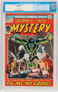 Journey Into Mystery #1 (Marvel, 1972) CGC NM 9.4 Off-white pages