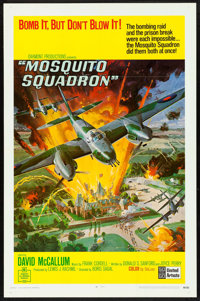 "Mosquito Squadron (United Artists, 1969). One Sheet (27"" X 41""). War"