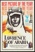"Movie Posters:Academy Award Winners, Lawrence of Arabia (Columbia, 1963). One Sheet (27"" X 41"") AcademyAward Style D. War.. ..."