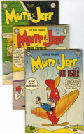 Golden Age (1938-1955):Humor, Mutt and Jeff Group (DC and others, 1947-63) Condition: Average GD+.... (Total: 14 Comic Books)