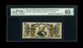 Fractional Currency:Third Issue, Fr. 1333 50c Third Issue Spinner PMG Gem Uncirculated 65 EPQ....