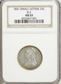 1831 25C Small Letters AU53 NGC....(PCGS# 5348)