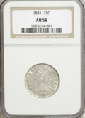 1831 25C Small Letters AU58 NGC....(PCGS# 5348)