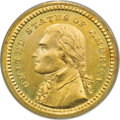 Commemorative Gold, 1903 G$1 Louisiana Purchase/Jefferson MS66 PCGS....