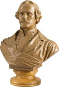 Military & Patriotic:Civil War, BUST OF CONFEDERATE GENERAL ALBERT SIDNEY JOHNSTON BY LEGENDARY ARTIST EDWARD VIRGINIUS VALENTINE....