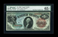 Large Size:Legal Tender Notes, Fr. 18 $1 1869 Legal Tender PMG Gem Uncirculated 65 EPQ....