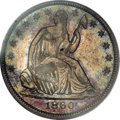 Seated Half Dollars, 1860-O 50C MS64 PCGS....