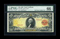 Large Size:Gold Certificates, Fr. 1180 $20 1905 Gold Certificate PMG Gem Uncirculated 66 EPQ....