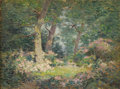 Fine Art - Painting, American:Modern  (1900 1949)  , FRANK ALFRED BICKNELL (American 1866-1943). Mountain Laurel,June 1903. Oil on artist's board. 12 x 16 inches (30.5 x 40...