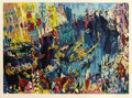 Illustration:Magazine, LEROY NEIMAN (American b. 1926) . Regatta of the Gondoliers,1978 . Silkscreen Print . 26-1/4 x 36 inches (66.7 x 91.4 ...