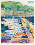 Prints:Contemporary, LEROY NEIMAN (American b. 1926). Harbor at Monaco, 1988.Silkscreen print. 38 x 29 inches (96.5 x 73.7 cm). Ed.: 121/375...