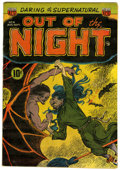 Golden Age (1938-1955):Horror, Out of the Night #4 (ACG, 1952) Condition: FN-....