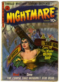 Golden Age (1938-1955):Horror, Nightmare #1 (Ziff-Davis, 1952) Condition: VG-....