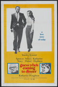 "Movie Posters:Comedy, Guess Who's Coming to Dinner (Columbia, 1967). One Sheet (27"" X 41""). Romance. Starring Spencer Tracy, Sidney Poitier, Katha..."