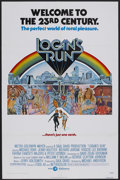 "Movie Posters:Science Fiction, Logan's Run (MGM, 1976). One Sheet (27"" X 41""). Science Fiction.Starring Michael York, Richard Jordan, Jenny Agutter, Rosco..."