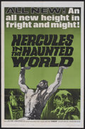 """Movie Posters:Adventure, Hercules in the Haunted World (Woolner Brothers, 1964). One Sheet(27"""" X 41""""). Fantasy Adventure. Starring Reg Park, Christo..."""