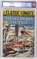 Golden Age (1938-1955):Adventure, Classic Comics #34 Mysterious Island (Gilberton, 1947) CGC NM 9.4 Off-white to white pages. Here's the original edition of t...