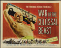 "Movie Posters:Science Fiction, War of the Colossal Beast (American International, 1958). HalfSheet (22"" X 28""). Science Fiction. ..."