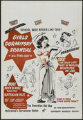 """Movie Posters:Bad Girl, Girls Dormitory Scandal (Roadshow Attractions, 1950s). One Sheet(28"""" X 41""""). Bad Girl. ..."""