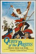 """Movie Posters:Adventure, Queen of the Pirates (Columbia, 1961). One Sheet (27"""" X 41"""").Adventure. ..."""