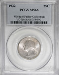 Washington Quarters, 1932 25C MS66 PCGS....