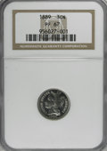 Proof Three Cent Nickels, 1889 3CN PR67 NGC....