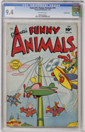 Golden Age (1938-1955):Funny Animal, Fawcett's Funny Animals #74 Crowley Copy pedigree (Fawcett, 1952)CGC NM 9.4 Off-white pages....