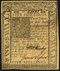 Colonial Notes:Delaware, Delaware January 1, 1776 5s About New.. ...
