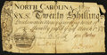 Colonial Notes:North Carolina, North Carolina March 9, 1754 20s Fine.. ...