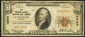 National Bank Notes:Virginia, Staunton, VA - $10 1929 Ty. 1 The Staunton NB & TC Ch. # 6903....