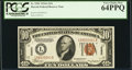 Small Size:World War II Emergency Notes, Fr. 2303 $10 1934A Hawaii Federal Reserve Note. PCGS Very ...