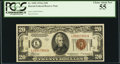Small Size:World War II Emergency Notes, Fr. 2305 $20 1934A Hawaii Federal Reserve Note. PCGS Choice AboutNew 55.. ...