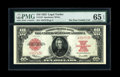 Large Size:Legal Tender Notes, Fr. 123 $10 1923 Legal Tender PMG Gem Uncirculated 65 EPQ....