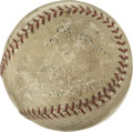 Autographs:Baseballs, 1938 Boston Red Sox Multi-Signed Baseball. The evenly toned andnicely preserved baseball was possibly singed during spring...