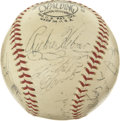 Autographs:Baseballs, 1969 Pittsburgh Pirates Team Signed Baseball. The signature ofRoberto Clemente leads the notables that signed the ONL (Gil...