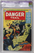 Golden Age (1938-1955):Adventure, Danger Trail #3 (DC, 1950) CGC Apparent FN/VF 7.0 Slight (A) Off-white pages....