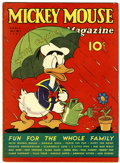 Platinum Age (1897-1937):Miscellaneous, Mickey Mouse Magazine V2#7 (K. K. Publications, Inc., 1937)Condition: FN....